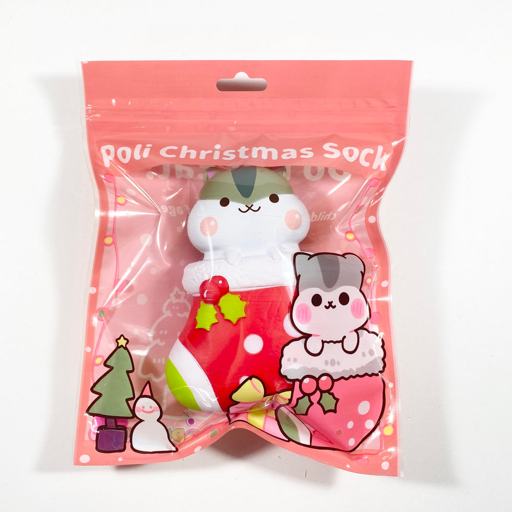 Poli Christmas Sock Stocking Squishy