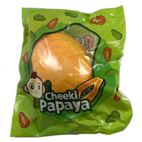 Puni Maru Super Jumbo Cheeki and Cheeka Yellow Papaya Squishy in packaging