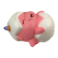 Puni Maru Magical Baby Dragon Puffpuff (Pink) version side view