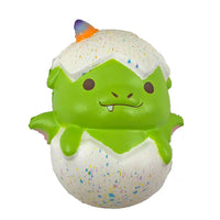 Puni Maru Magical Baby Dragon Green (Spike) version front view