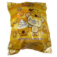Limited Edition Honey Yummiibear Mascot rear view of packaging