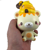 Limited Edition Honey Yummiibear Mascot front view held i hand