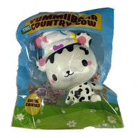 Creamiicandy Yummiibear Squishy Country Cow squishy front view in packaging