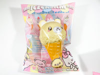 Bunny's Cafe Jumbo Kumatan & Candicorn Ice Cream Squishy