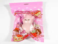 Bunny's Cafe Strawberry Bunny Marshmallow Squishy