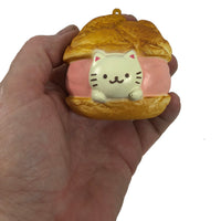 Cafe Sakura Cat Cream Puff by NIC