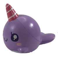 iBloom Jumbo Millie The Whale Squishy Roxy the Purple Whale Squishy