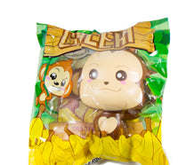 Puni Maru Jumbo Cheeki Squishy Open Smile Open Eyes version front view in packaging