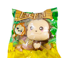 Puni Maru Jumbo Cheeki Squishy Normal Smile Open Eyes version front view in packaging