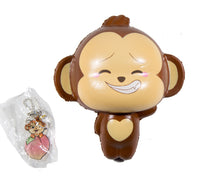 Puni Maru Jumbo Cheeki Squishy Open Smile Closed Eyes version front view with tag