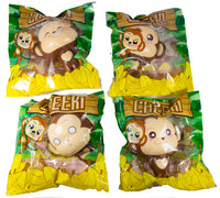 Puni Maru Jumbo Cheeki Squishy all 4 versions in packaging