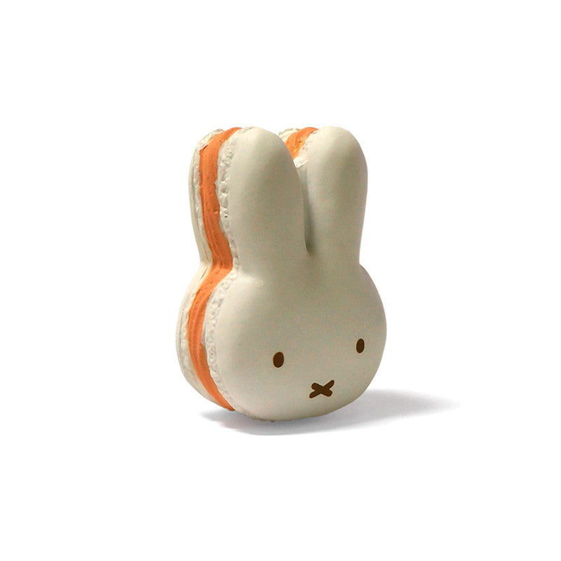 Miffy Macaroon Squishy white version side view