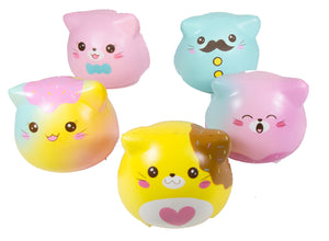 All 5 Puni Maru Kitty Marshmallow Squishies