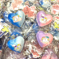Poli Cloud and Swan Heart Macaron Squishy