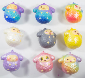 Puni Maru Easter Musical Sheep Squishy - Baby Lamb Capsule Squishy all 9 versions