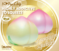 iBloom Super Jumbo I Love Peach Squishy ibloom peach ibloom advertisment