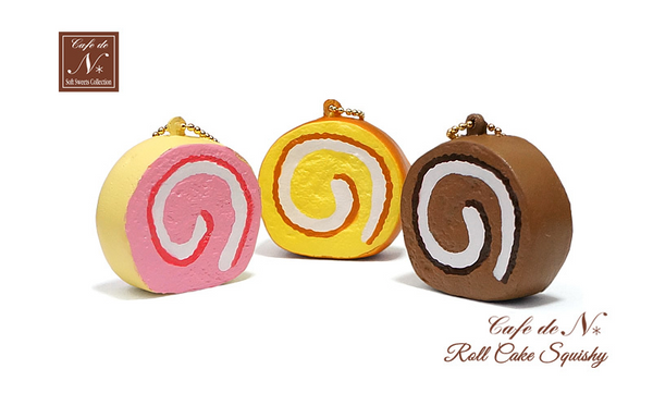 New NIC Cafe De N Roll Cake Squishy