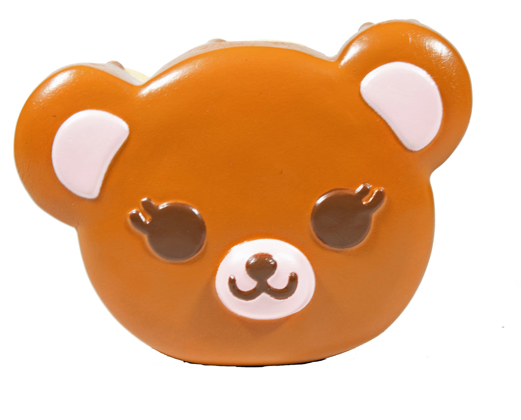 ibloom Tea Time Bear Squishy brown version front view