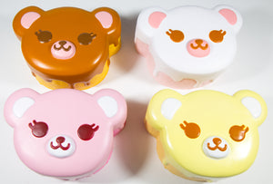 ibloom Tea Time Bear Squishy all 4 versions face view