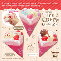 iBloom Marmo Strawberry Ice Crepe Squishy