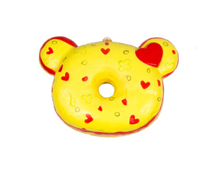 Creamiicandy Pizza Yummiibear Donut Squishy front view