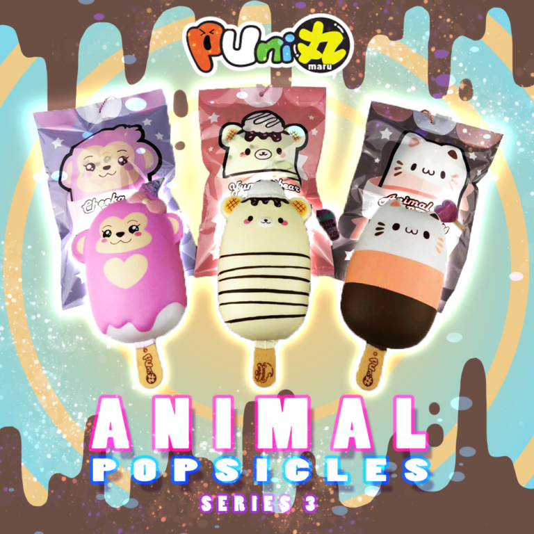 Puni Maru Animal Popsicle Squishy Series 3