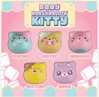 Puni Maru MIni Kitty Marshmallow Squishies