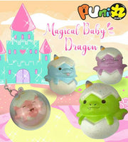 Puni Maru Magical Baby Dragon in an Egg Squishy company poster