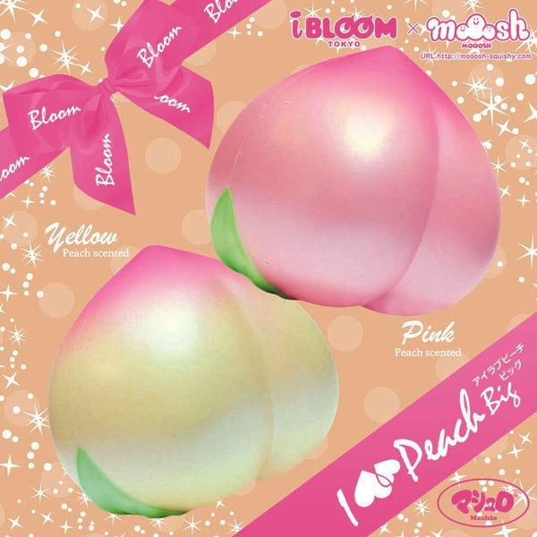 IBloom Jumbo Peach Squishy I Love Peach Series 3 iBloom aad