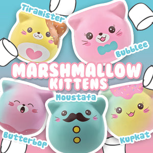 Puni Maru Puni Maru Kitty Marshmallow Squishies Add
