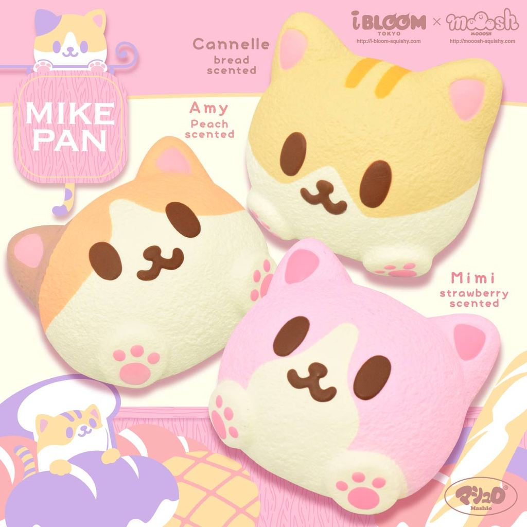 iBloom Mini Mike Pan Squishy