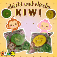 Puni Maru company add for Cheeki's Mini Kiwi Squishy
