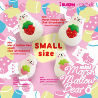 IBloom Mini Marmo Marshmallow Bear Squishy Mr White
