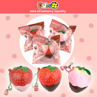 Mini Cheeki Strawberry Classic Squishy