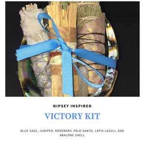 "Nipsey Inspired ""Victory"" Kit 💙"