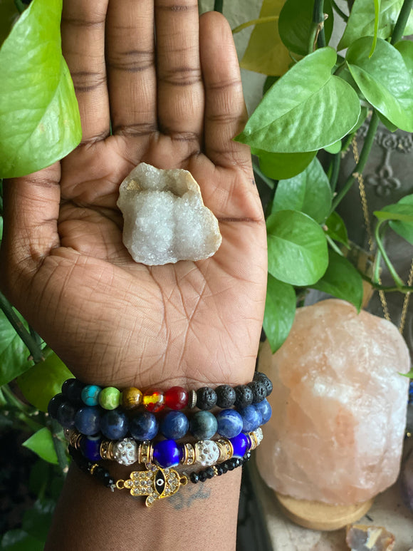 Raw Clear Quartz Healing Chain