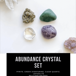 Abundance Crystal Set