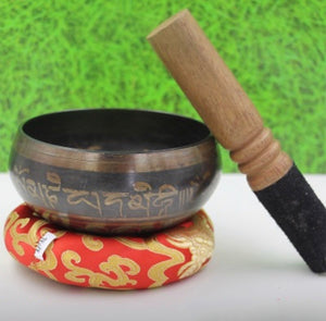 Tibetan Singing Bowl Set 5""