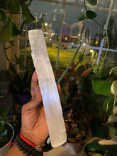 "Load image into Gallery viewer, 14"" Selenite Log"