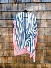 Load image into Gallery viewer, Pink Zebra Kimono