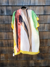 Load image into Gallery viewer, Mustard Multi Rivers Kimono
