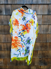 Load image into Gallery viewer, Yellow and Orange flower Kimono
