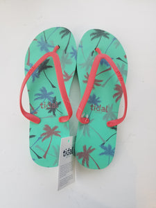 Palm Tree Tidal Sandal