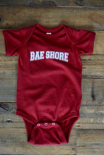 Load image into Gallery viewer, BAE Shore Onsie Maroon