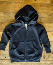 Load image into Gallery viewer, LI Baby hoodie Navy
