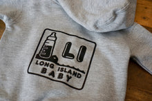 Load image into Gallery viewer, LI Baby hoodie Gray