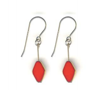 Load image into Gallery viewer, earrings red
