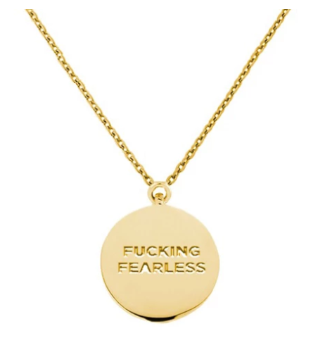 Fucking Fearless Necklace