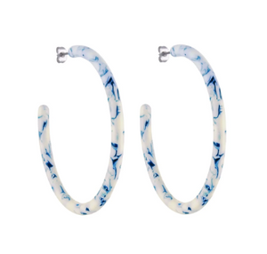 large hoop earrings toile