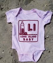 Load image into Gallery viewer, LI Baby pink Onesie